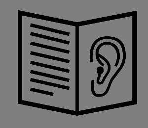 Oswestry Talking Newspaper logo.